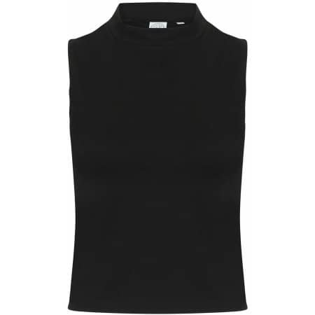 Women`s High Neck Crop Vest von SF Women (Artnum: SF170
