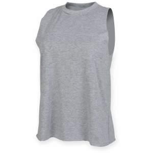 Ladies` High Neck Slash Armhole Vest
