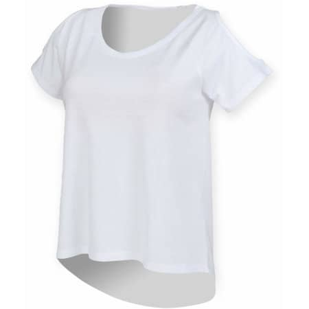 Ladies` Drop Tail T von SF Women (Artnum: SF233