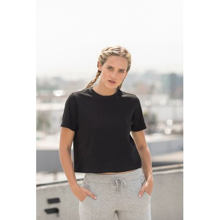 Women`s Cropped Boxy T von SF Women (Artnum: SF237