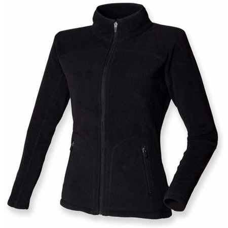 Ladies` Microfleece Jacket in Black von SF Women (Artnum: SF28