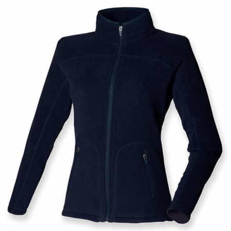 Ladies` Microfleece Jacket in Navy von SF Women (Artnum: SF28