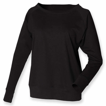 Ladies` Slounge Sweat in Black von SF Women (Artnum: SF513