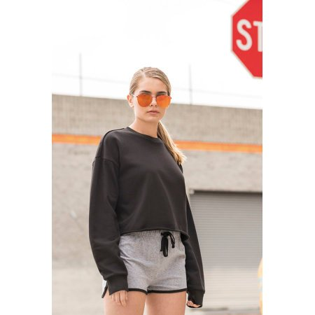 Women`s Cropped Slounge Sweat von SF Women (Artnum: SF515