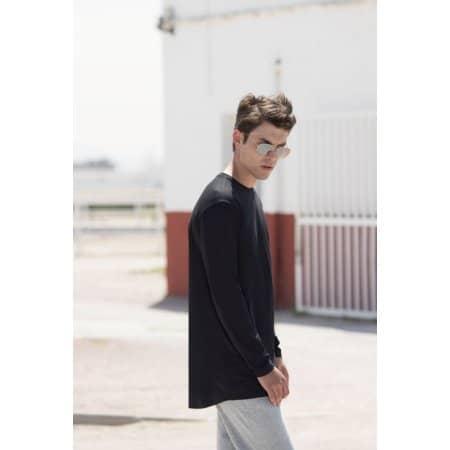 Men´s Long Sleeved Longline T von SF Men (Artnum: SFM259
