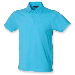 Men`s Short Sleeved Stretch Polo