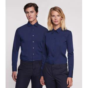 Men Shirt Modern Long Sleeve
