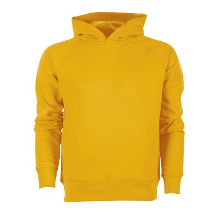 Stanley Knows Kapuzensweat in Spectra Yellow von Stanley/Stella (Artnum: STSM607S