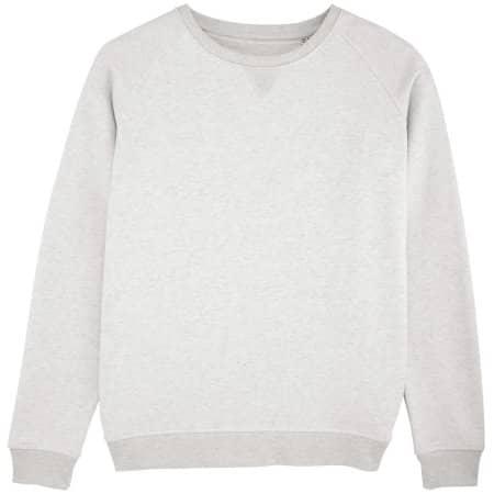 Stella Trips Sweatshirt in Cream Heather Grey von Stanley/Stella (Artnum: STSW049