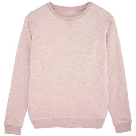 Stella Trips Sweatshirt in Cream Heather Pink von Stanley/Stella (Artnum: STSW049