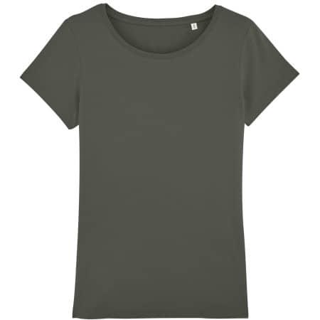 Stella Wants Damen T-Shirt in Khaki von Stanley/Stella (Artnum: STTW028