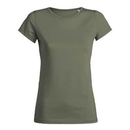 Stella Wants Damen T-Shirt - Sale in Light Khaki von Stanley/Stella (Artnum: STTW028S