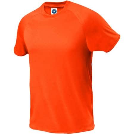 Sport T-Shirt in Fluorescent Orange von Starworld (Artnum: SW300