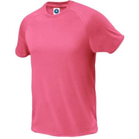 Sport T-Shirt in Fluorescent Pink von Starworld (Artnum: SW300