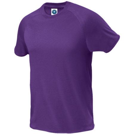 Sport T-Shirt in Fluorescent Purple von Starworld (Artnum: SW300