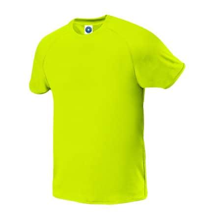 Sport T-Shirt in Fluorescent Yellow von Starworld (Artnum: SW300