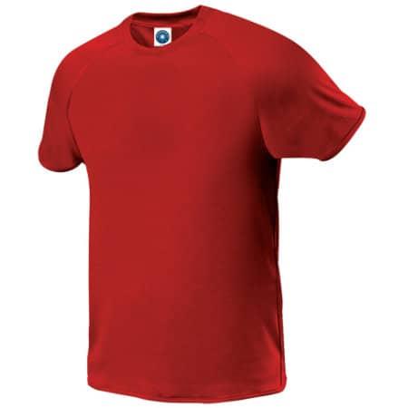 Sport T-Shirt in Red von Starworld (Artnum: SW300