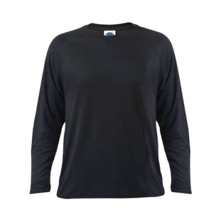 Sport T-Shirt Longsleeve in Black von Starworld (Artnum: SW300LS