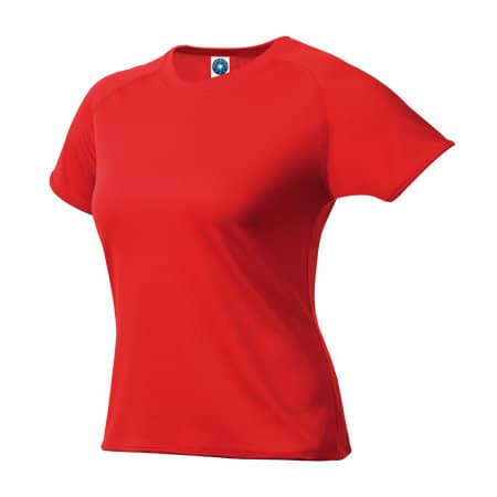 Ladies` Sport T-Shirt in Red von Starworld (Artnum: SW403