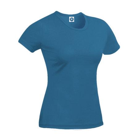 Ladies` Retail T-Shirt in Indigo von Starworld (Artnum: SWGL2