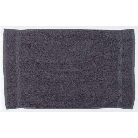 Luxury Hand Towel in Steel Grey (Solid) von Towel City (Artnum: TC03