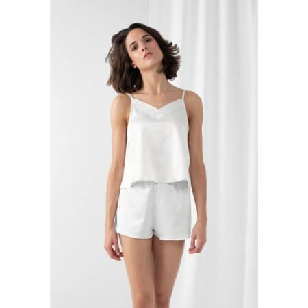 Ladies Satin Cami Short Pyjamas von Towel City (Artnum: TC057
