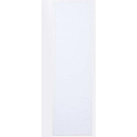 Microfibre Sports Towel in White von Towel City (Artnum: TC17