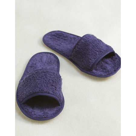 Classic Terry Slippers - Open Toe von Towel City (Artnum: TC64