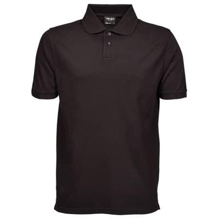 Heavy Polo in Black von Tee Jays (Artnum: TJ1400N