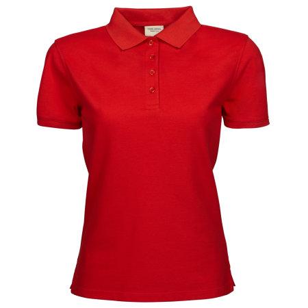 Ladies` Heavy Polo in Red von Tee Jays (Artnum: TJ1401