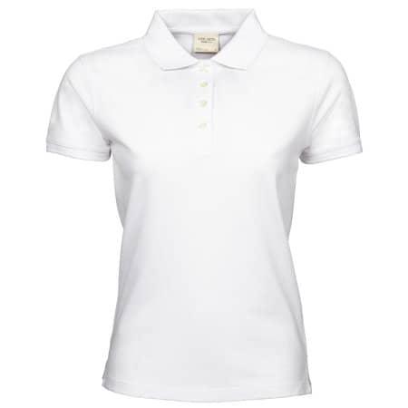 Ladies` Heavy Polo in White von Tee Jays (Artnum: TJ1401