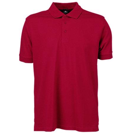 Luxury Stretch Polo in Deep Red von Tee Jays (Artnum: TJ1405