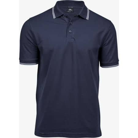 Luxury Stripe Stretch Polo von Tee Jays (Artnum: TJ1407