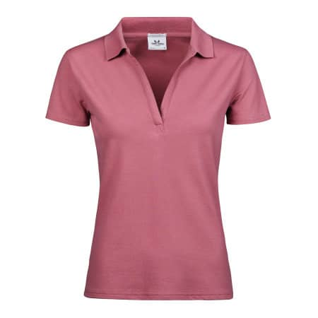 Womens Luxury Stretch V-Neck Polo von Tee Jays (Artnum: TJ1409