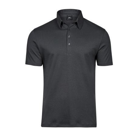Pima Cotton Polo in Dark Grey (Solid) von Tee Jays (Artnum: TJ1440