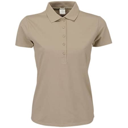 Ladies` Luxury Stretch Polo in Kit von Tee Jays (Artnum: TJ145