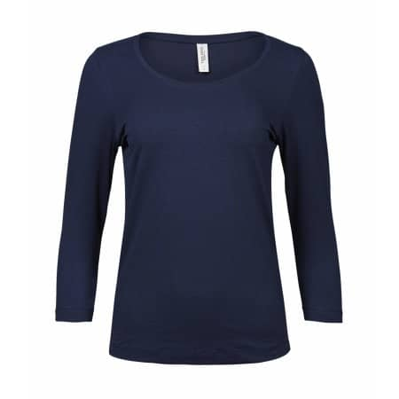 Ladies` Stretch 3/4 Sleeve Tee von Tee Jays (Artnum: TJ460