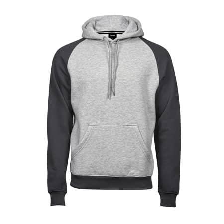 Two-Tone Hooded Sweatshirt von Tee Jays (Artnum: TJ5432