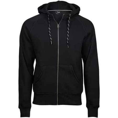 Fashion Full Zip Hood in Black von Tee Jays (Artnum: TJ5435N