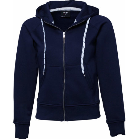 Ladies` Fashion Full Zip Hood von Tee Jays (Artnum: TJ5436N