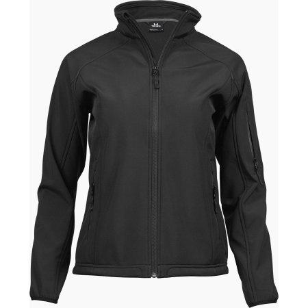 Ladies` Lightweight Performance Softshell in Black von Tee Jays (Artnum: TJ9511