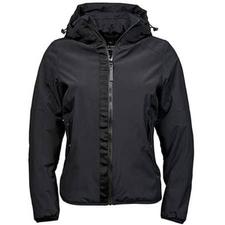 Womens Urban Adventure Jacket in Black von Tee Jays (Artnum: TJ9605N