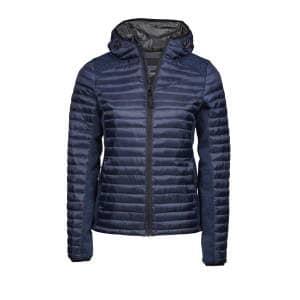 Ladies` Hooded Aspen Crossover Jacket