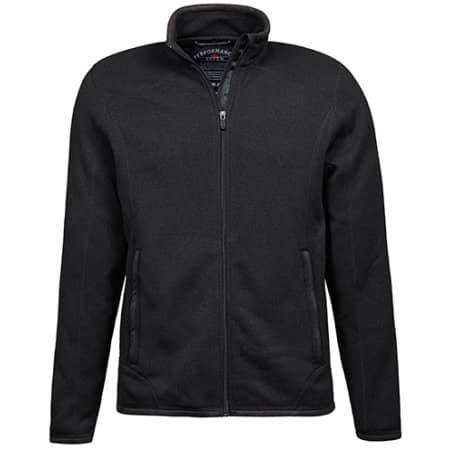 Outdoor Fleece Jacket in Black von Tee Jays (Artnum: TJ9615