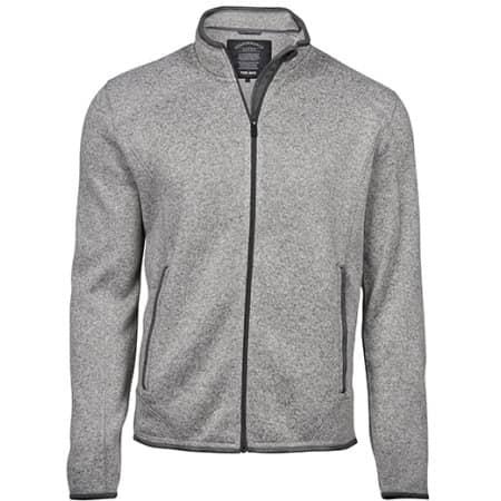 Outdoor Fleece Jacket in Grey Melange von Tee Jays (Artnum: TJ9615