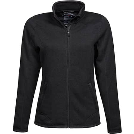 Ladies` Outdoor Fleece Jacket in Black von Tee Jays (Artnum: TJ9616