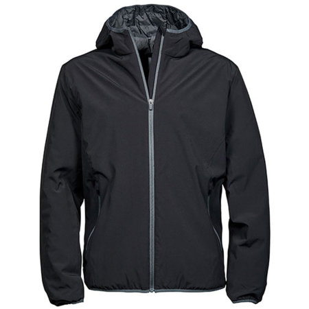 Mens´Competition Jacket in Black Space Grey von Tee Jays (Artnum: TJ9650N