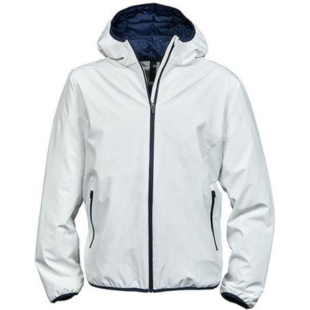 Mens´Competition Jacket in Snow|Navy von Tee Jays (Artnum: TJ9650N