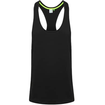 Light Men`s Muscle Vest in Black von Tombo (Artnum: TL504