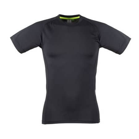 Men`s Slim Fit T-Shirt in Black|Black von Tombo (Artnum: TL515